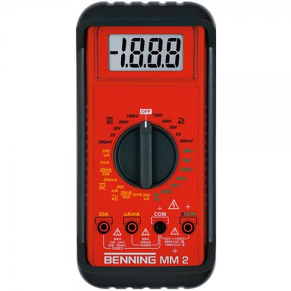 044028 Цифровой мультиметр BENNING MM 2