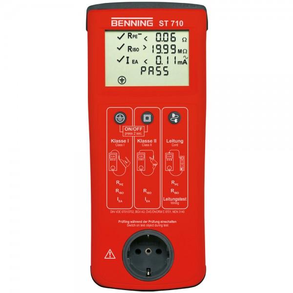 050308 Прибор для измерения токов утечки на землю BENNING ST 710